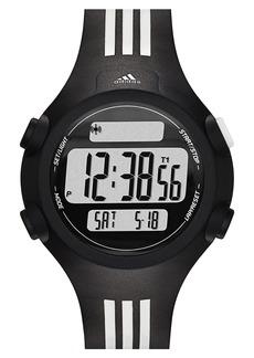 adidas Originals 'Questra' Rubber Strap Watch, 42mm