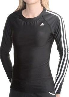 Adidas Tough Stuff Rash Guard - UPF 50+, Long Sleeve (For Women)