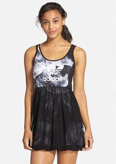 adidas 'White Smoke' Tank Dress
