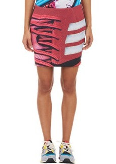 adidas x Mary Katrantzou Abstract-Print Mini Skirt