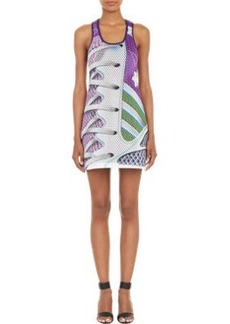 adidas x Mary Katrantzou Neoprene Mesh Tank Dress