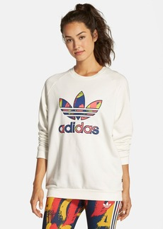 adidasOriginals 'Paris' Logo Pullover Sweatshirt