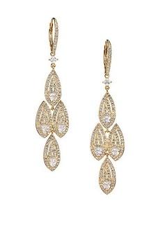 Adriana Orsini Athena Chandelier Leverback Earrings