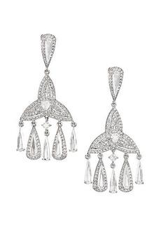 Adriana Orsini Athena Fringe Chandelier Earrings