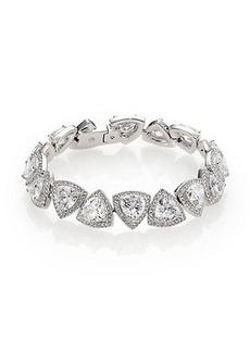 Adriana Orsini Athena Trillion Bracelet/Silvertone