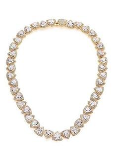 Adriana Orsini Athena Trillion Necklace/Goldtone