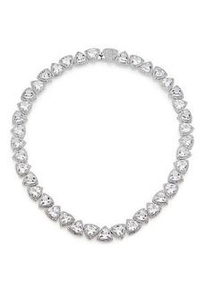 Adriana Orsini Athena Trillion Necklace/Silvertone
