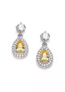 Adriana Orsini Canary Tear Drop Earrings