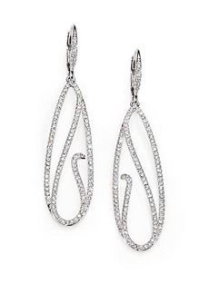 Adriana Orsini Celestial Crystal Open Drop Earrings