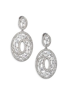 Adriana Orsini Celestial Oval Drop Earrings