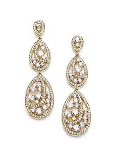 Adriana Orsini Celestial Triple-Drop Earrings