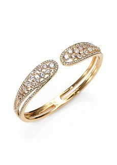 Adriana Orsini Crystal Celestial Bangle Bracelet