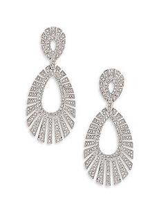 Adriana Orsini Decadence Pavé Crystal Teardrop Earrings