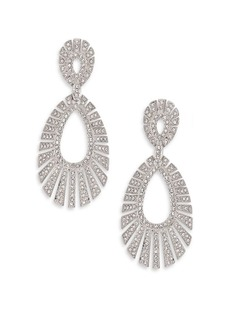 Adriana Orsini Decadence Pavé Crystal Teardrop Earrings