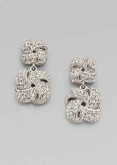 Adriana Orsini Double Knot Drop Earrings