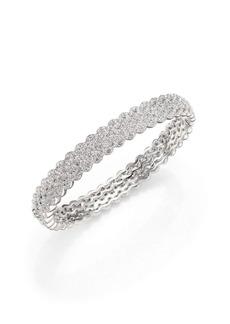 Adriana Orsini Eden Pavé Crystal Bangle Bracelet