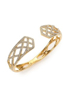 Adriana Orsini Elevate Pavé Crystal Bangle Bracelet