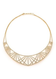 Adriana Orsini Elevate Pavé Crystal Bib Necklace