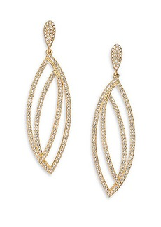 Adriana Orsini Elevate Pavé Crystal Marquis Drop Earrings