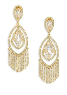 Adriana Orsini Embraced Crystal Chandelier Earrings