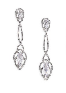 Adriana Orsini Embraced Marquis Linear Drop Earrings