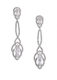 Adriana Orsini Embraced Marquis Linear Drop Earrings
