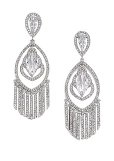 Adriana Orsini Embraced Marquis Tassel Chandelier Earrings