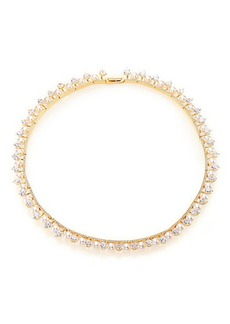Adriana Orsini Fireworks Faux Pearl & Pavé Collar Necklace