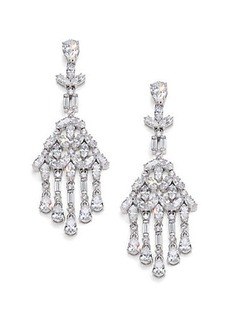 Adriana Orsini Fringe Cluster Chandelier Earrings