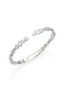 Adriana Orsini Geometric Bezel Cuff Bracelet