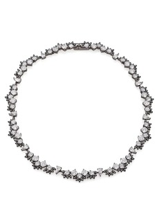Adriana Orsini Kaleidoscope All-Around Necklace/Gunmetal-Tone