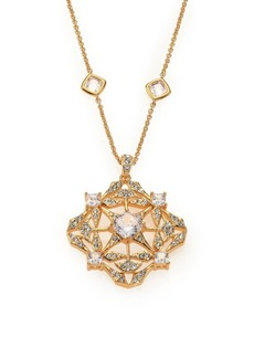 Adriana Orsini Kaleidoscope Crystal Pendant Station Necklace