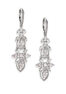 Adriana Orsini Lavish Chandelier Leverback Earrings