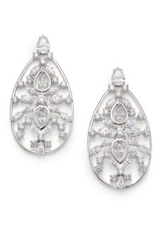 Adriana Orsini Lavish Large Teardrop Earrings
