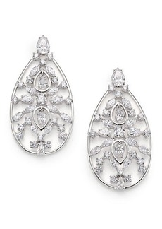 Adriana Orsini Lavish Large Teardrop Earrings