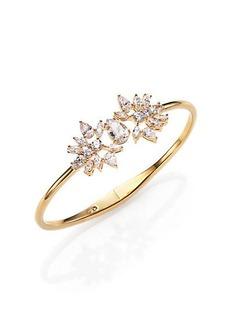 Adriana Orsini Lavish Small Bangle Bracelet/Goldtone
