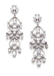 Adriana Orsini Lavish Tiered Chandelier Earrings
