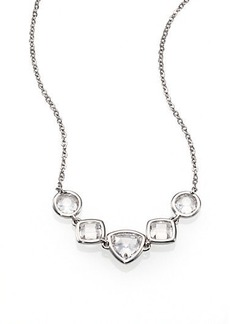Adriana Orsini Multi-Shape Crystal Necklace
