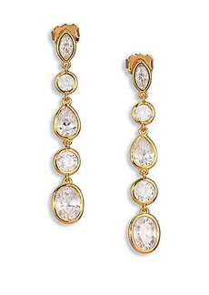 Adriana Orsini Multi-Shape Linear Earrings