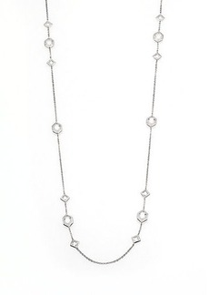 Adriana Orsini Multi-Shape Station Necklace