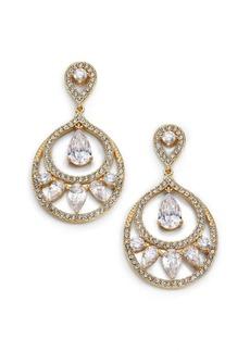 Adriana Orsini Nested Teardrop Earrings/Goldtone
