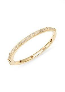 Adriana Orsini Pavé Bezel Bracelet/Gold