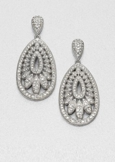 Adriana Orsini Pavé Fan Drop Earrings