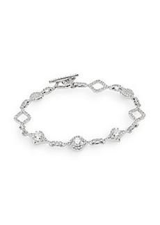 Adriana Orsini Pavé Taper Link Bracelet