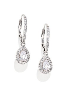 Adriana Orsini Pear Drop Pendant Earrings