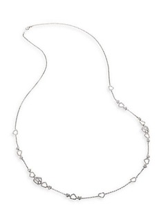 Adriana Orsini Roxy Pave Crystal Station Necklace