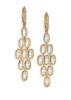 Adriana Orsini Scales Chandelier Earrings
