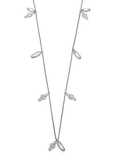 Adriana Orsini Scales Long Shaky Necklace