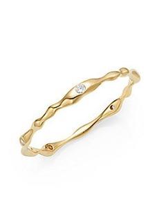 Adriana Orsini Small Modulated Bangle Bracelet