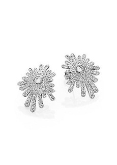 Adriana Orsini Starburst Button Earrings